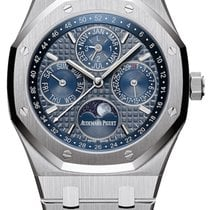 Audemars Piguet Royal Oak Perpetual Calendar Steel 41mm Blue