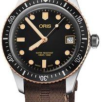 Oris Divers Sixty Five Steel 36mm Black