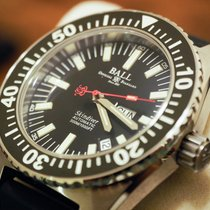 Ball Engineer Master II Skindiver Zeljezo 40.5mm Crn