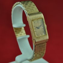 Boucheron Geelgoud Handopwind Boucheron Reflet 1950-60's Vintage Ladies Watch 18k Gold tweedehands