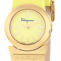 Salvatore Ferragamo Quarz neu Gold