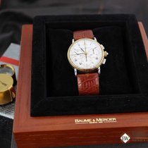 名士 Serviced Vintage  LEMANIA 1873 Chronograph 6101099 18K Gold...