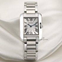 Cartier Tank Anglaise pre-owned 22.5mm Steel