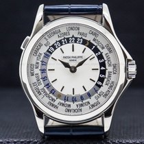 Patek Philippe World Time 37mm Ouro branco