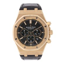 Audemars Piguet Royal Oak Chronograph Rose gold 41mm Black No numerals United States of America, New York, New York