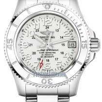 Breitling Superocean II 36 Steel 36mm White United States of America, New York, Airmont