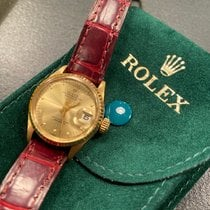 Rolex Oyster Perpetual Lady Date Or jaune 26mm Sans chiffres France, Paris