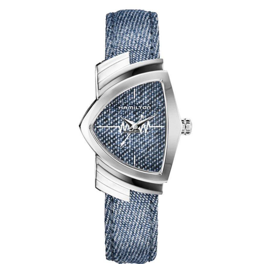 Hamilton Ladies H24211941 Ventura S L Quartz Slim Watch