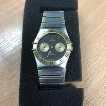 Omega Constellation Day-Date Gold/Steel 32mm Black Roman numerals