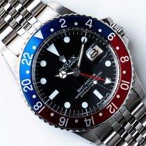 Rolex 1675 Stahl 1977 GMT-Master 40mm gebraucht