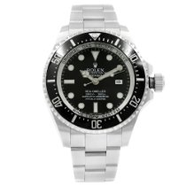 Rolex Sea-Dweller Deepsea pre-owned 44mm Black Steel