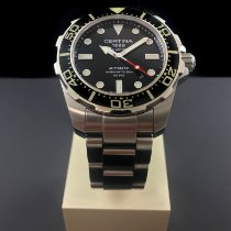 Certina DS Action Steel 43mm Black No numerals United States of America, Indiana, Indianapolis