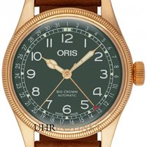 Oris Big Crown Pointer Date Bronze 40mm Grün Deutschland, Schwabach