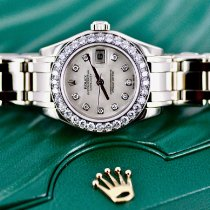 Rolex Lady-Datejust Pearlmaster White gold 29mm Mother of pearl No numerals United States of America, Michigan, Southfield