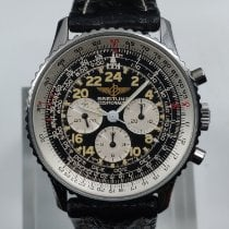 Breitling Navitimer Cosmonaute Steel 41mm Black Arabic numerals United States of America, Ohio, Shaker Heights