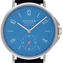 NOMOS Ahoi Neomatik Acier 36.3mm Bleu