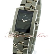 Movado Eliro, Black Museum Dial - Stainless Steel on Bracelet