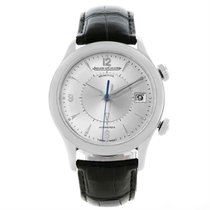 Jaeger-LeCoultre pre-owned Automatic 40mm Silver Sapphire Glass