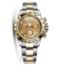 Rolex Daytona Gold/Steel 40mm Champagne No numerals United States of America, New York, New York