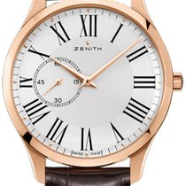 Zenith Elite Ultra Thin Rose gold 43mm White United States of America, New York, Brooklyn
