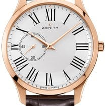 Zenith Rose gold Automatic White 43mm new Elite Ultra Thin