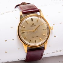 Omega Seamaster (Submodel) pre-owned 32mm Yellow gold