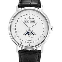 Blancpain Men's 6654-1127-55B Villeret Moonphase Watch