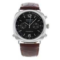 Panerai Radiomir Rattrapante Steel 44mm Black Arabic numerals United States of America, New York, Greenvale