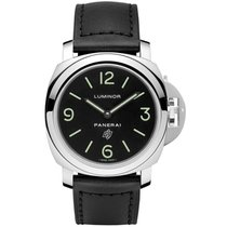 Panerai Luminor Base Logo Steel 44mm Black Arabic numerals United States of America, Pennsylvania, Holland