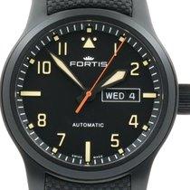 "Fortis ""Aeromaster Stealth"" PVD Black. New, onworn"