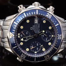 Omega Seamaster Diver 300 M, Chronograph, Blue Dial