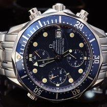 Omega Seamaster Diver 300M, Chronograph, Blue Dial