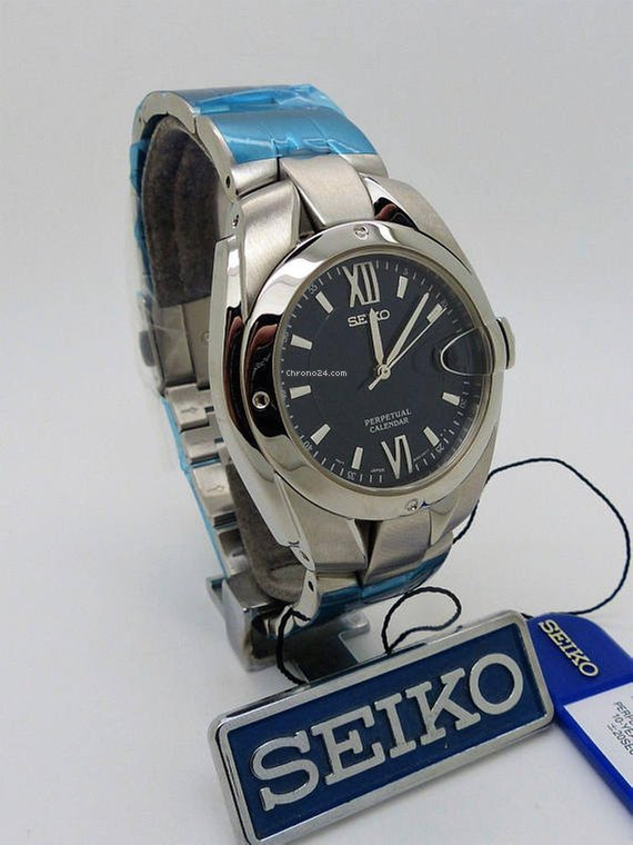 Seiko Perpetual Calendar 8F32-0019 Ref  SLL003P5 for  456 for sale from a  Trusted Seller on Chrono24 cb32bed78