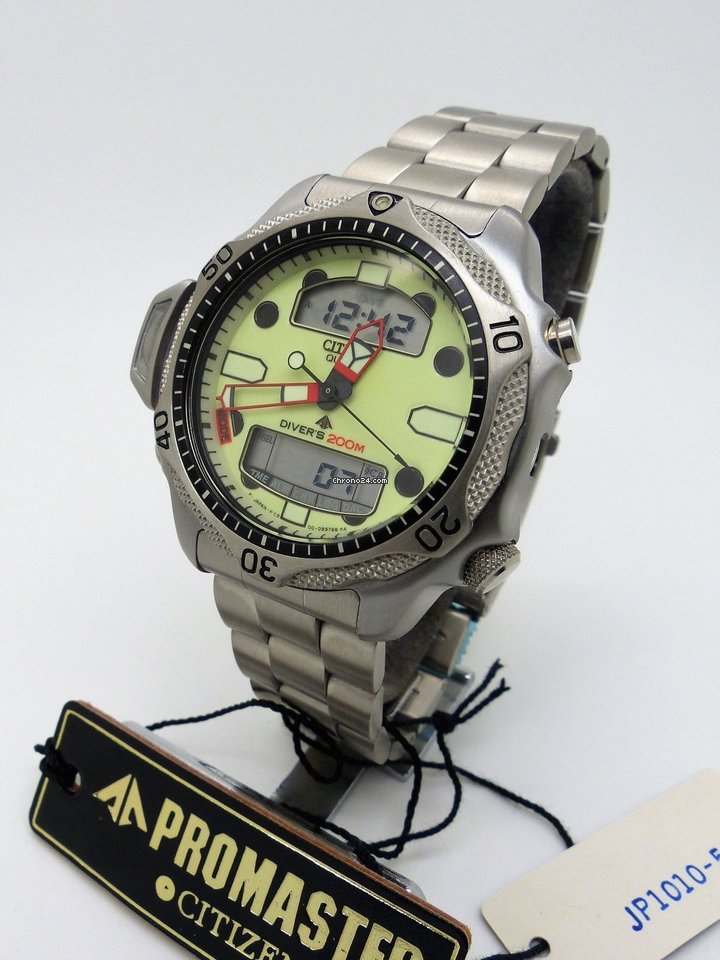 27d568f863a Citizen Promaster Aqualand II JP1010-51W Diver C500-E80338 for $432 for  sale from a Trusted Seller on Chrono24