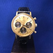 Zenith Chronograph 146 HP about 1960 gold  black subdials on ...