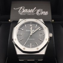 Audemars Piguet Royal Oak Selfwinding grey 37mm steel