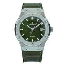 Hublot Classic Fusion 45, 42, 38, 33 mm nowość Automatyczny Zegarek z oryginalnym pudełkiem i oryginalnymi dokumentami 542.NX.8970.LR