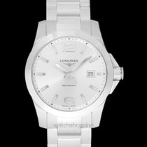 Longines Steel 41.00mm Quartz L37594766 new United States of America, California, San Mateo