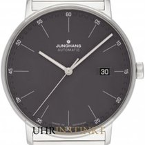 Junghans FORM A Otel 39,30mm Gri