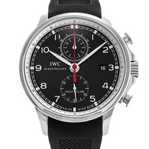 IWC Portuguese Yacht Club Chronograph pre-owned 45.4mm Steel