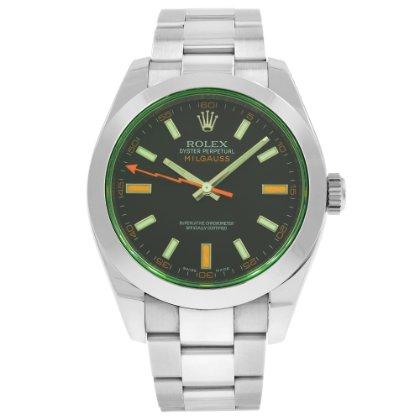 Rolex предложил решение в виде часов milgauss, созданных в году, которые способны выдерживать магнитные поля с индукцией до гауссов, отсюда их название: в переводе с французского «mille» означает «тысяча».