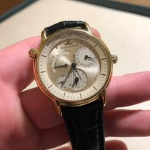 Jaeger-LeCoultre 38mm Automatic pre-owned Master Geographic Silver