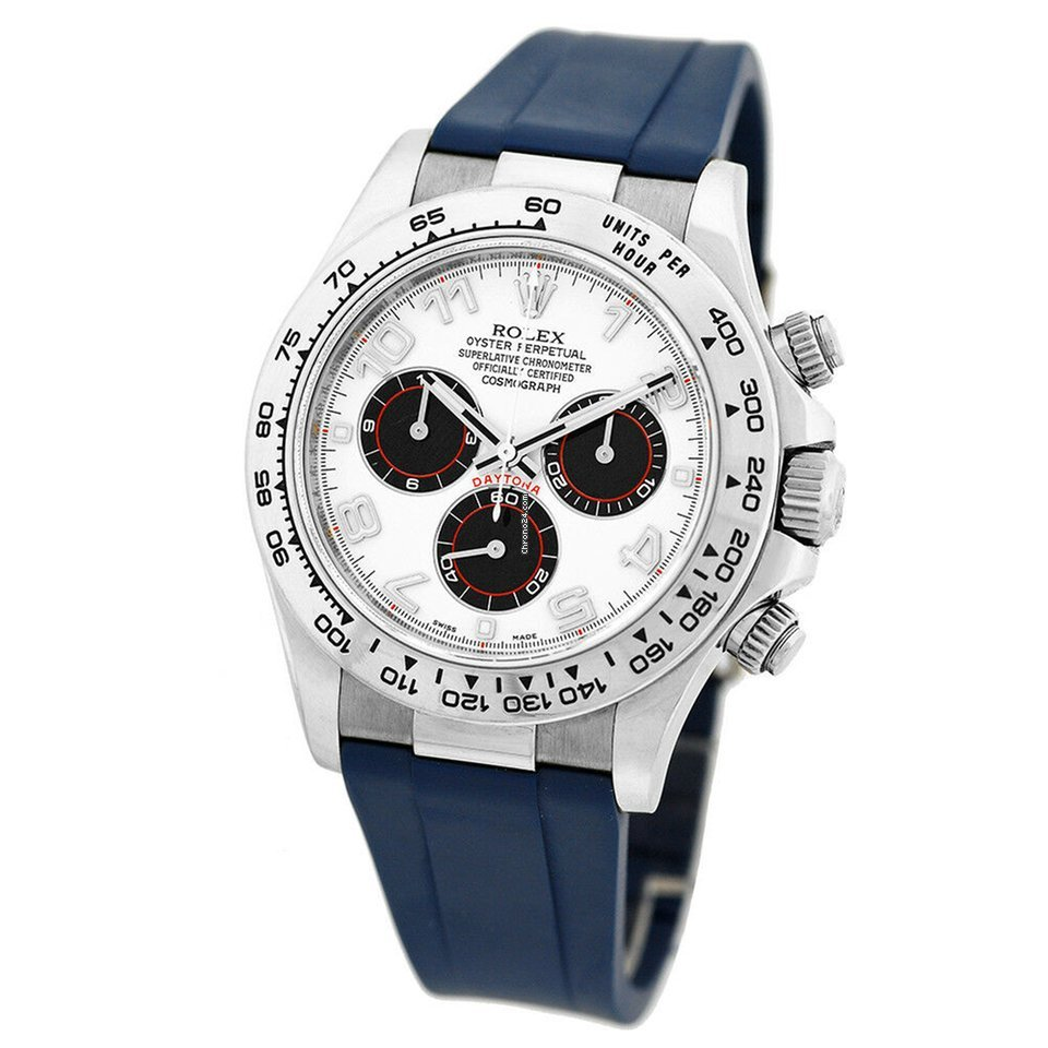 1eba3ee8929 Rolex 18K White Gold 40mm Daytona Cosmograph 116519 Panda Dial... for Rs.  1