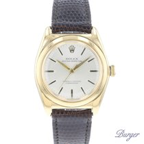 Rolex Bubble Back Yellow gold 32mm Silver