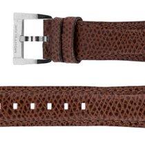 Montblanc Deler/tilbehør montblanc-brown-leather-strap-mb18brnlt ny