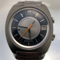 Omega Memomatic Steel 40mm Grey No numerals