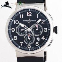 율리세 나르딘 스틸 43mm 자동 1503-150-3/62 중고시계