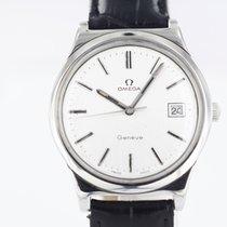 Omega Genève Stahl 36mm Silber Deutschland, Wiernsheim