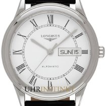 Longines L4.899.4.21.2 Staal 2019 Flagship 38,50mm nieuw
