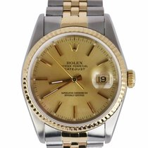 Rolex Gold/Steel 36mm Automatic 16233 pre-owned